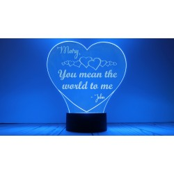 Personalized Heart with...