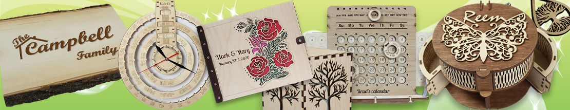 Handmade personalized gifts for all ages